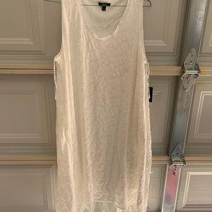 vera wang high low white dress